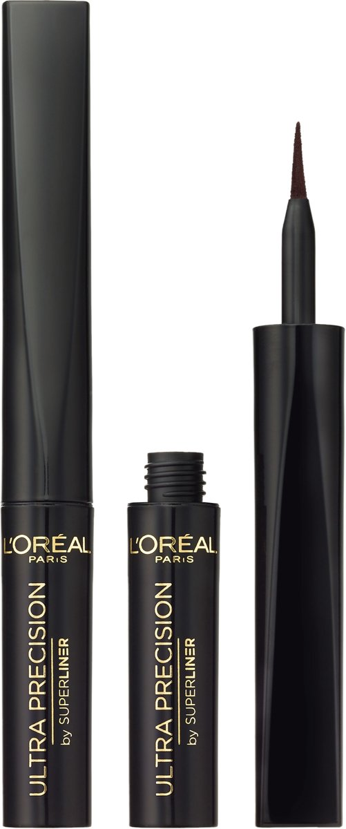 L'Oréal Paris Superliner Ultra Precision Eyeliner - Zwart