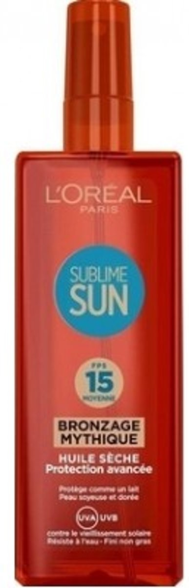 L Oreal SPF 15 Sublime Oil Spray