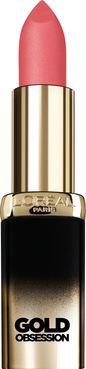 LOréal Paris Color Riche Gold Obsession Lippenstift - Pink Gold