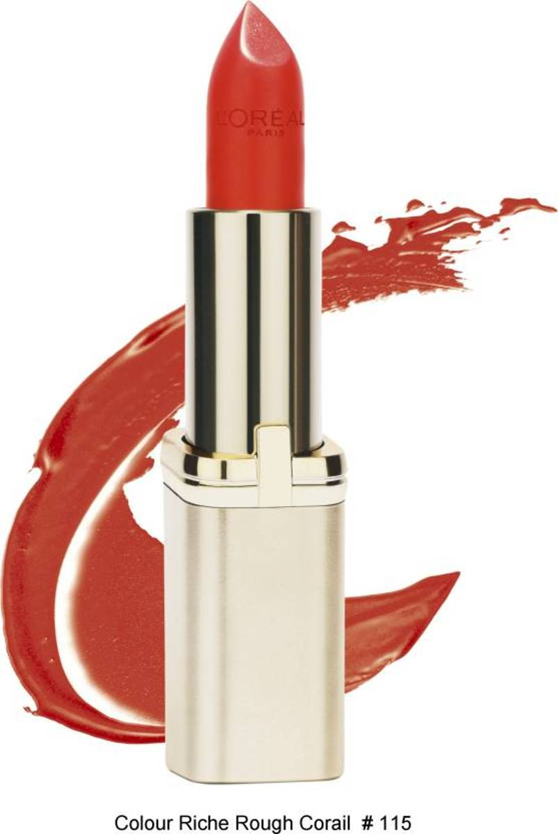 LOréal Paris Color Riche Lipstick - 115 Rouge Corail