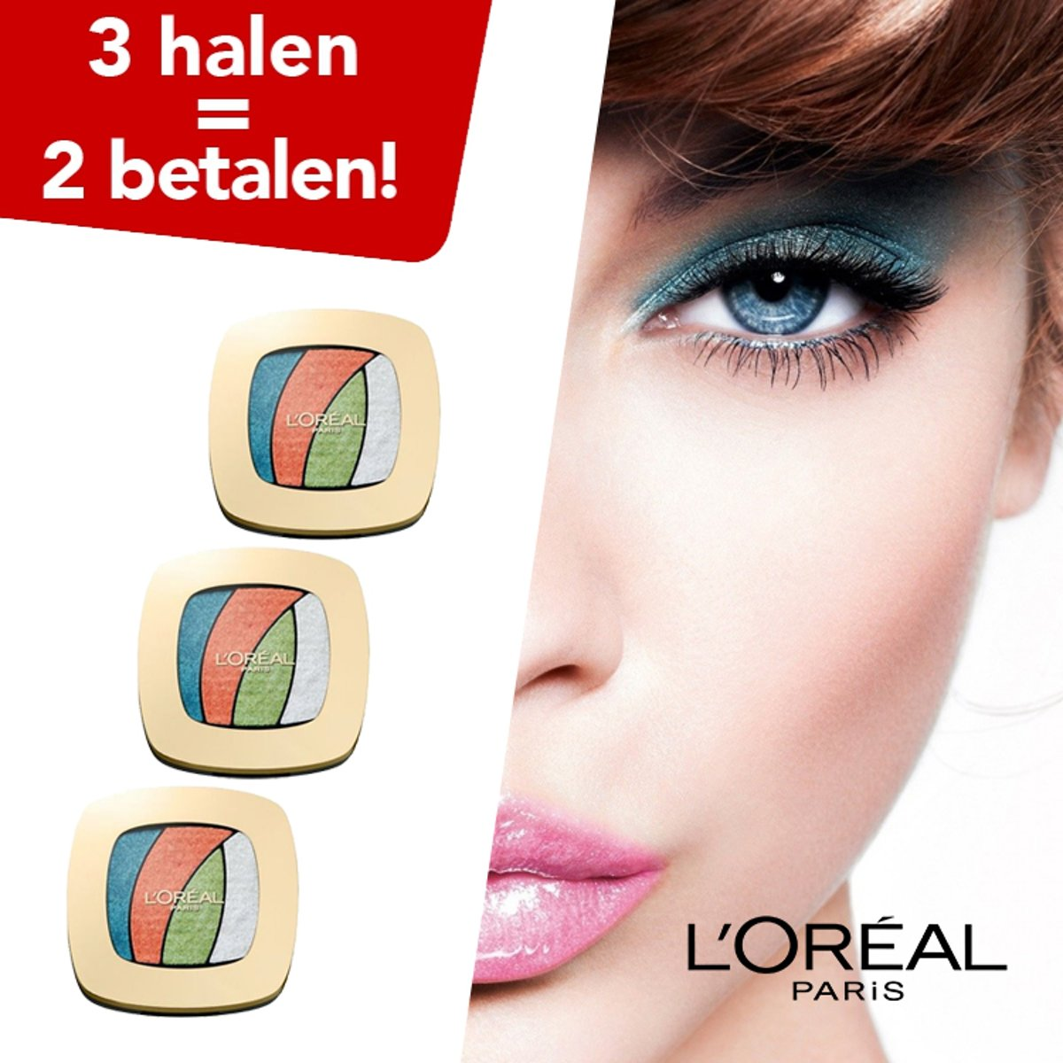 LOréal Paris Color Riche Oogschaduw Shocking S4 Tropical Tutu - 3 Halen = 2 Betalen!