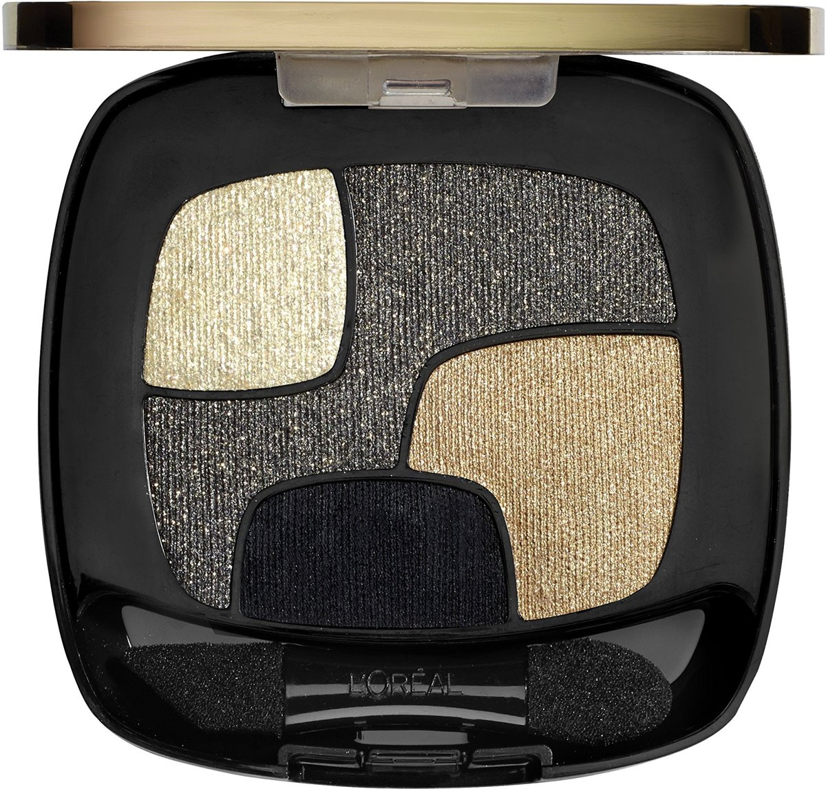 LOréal Paris Color Riche Quad eyeshadow P14 Golden Black