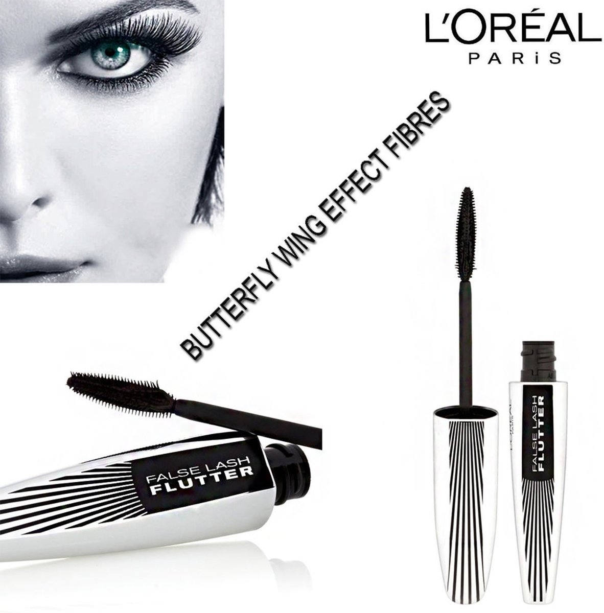 LOréal Paris False Lash Flutter Mascara Black