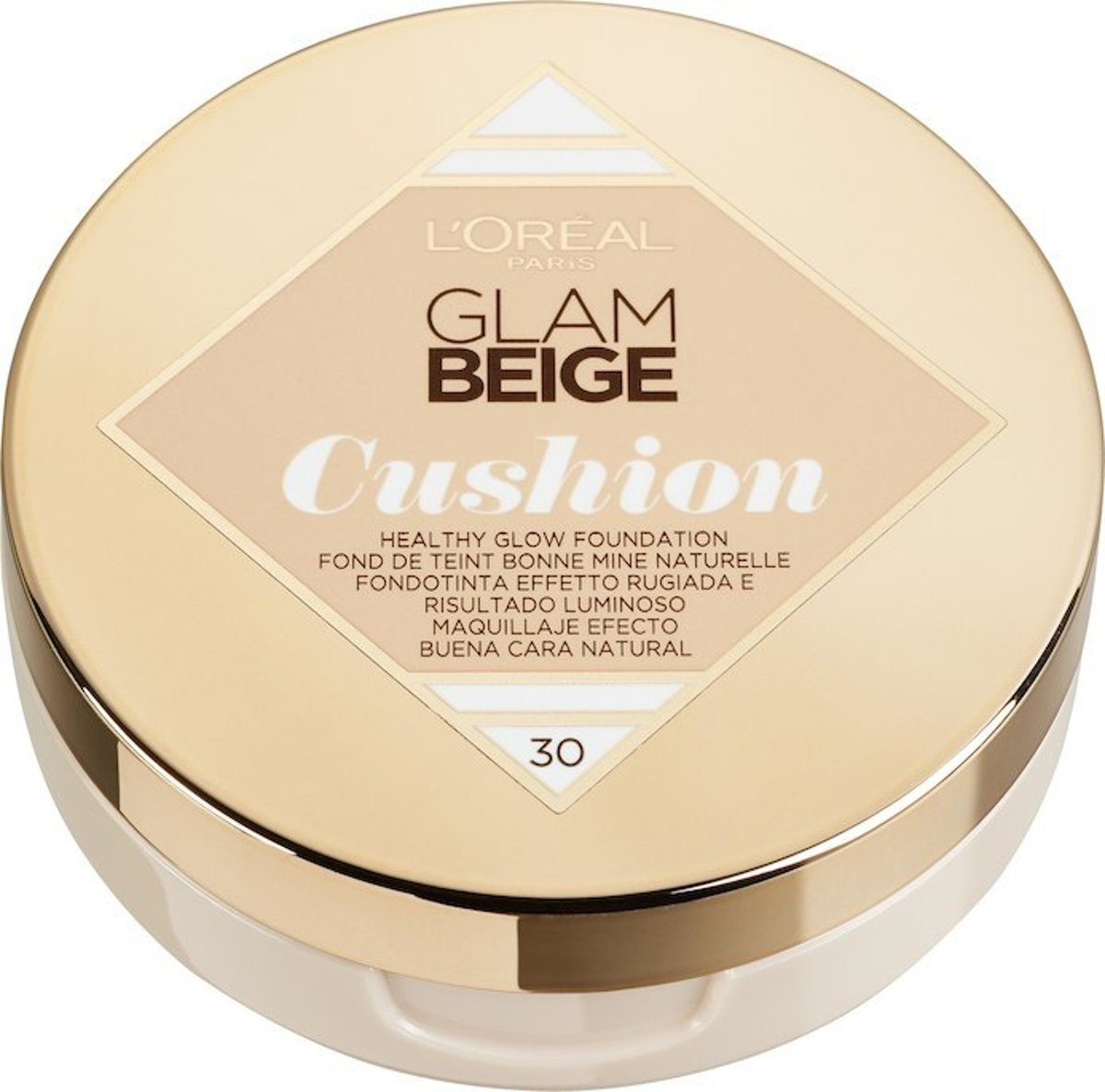 LOréal Paris Glam Beige Cushion Healthy Glow Foundation - 30 Medium Light