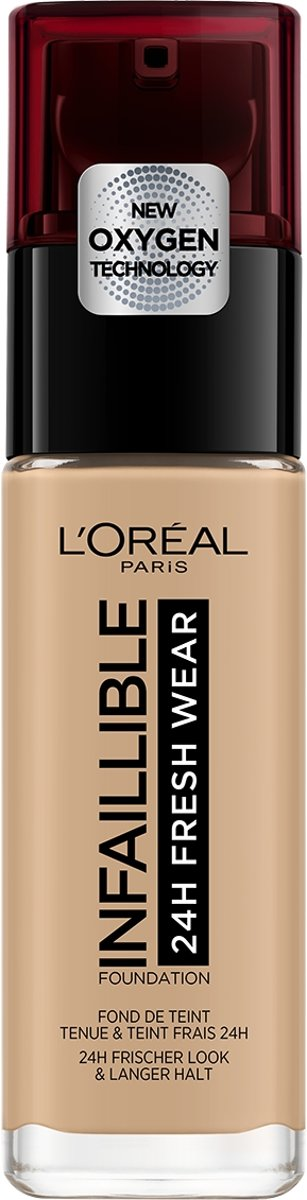 LOréal Paris Infaillible 24H Fresh Wear Foundation - 140 Golden Beige - Langhoudende Foundation