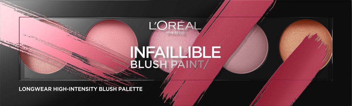 LOréal Paris Infaillible Blush Paint - 02 Amber - Blush Palet