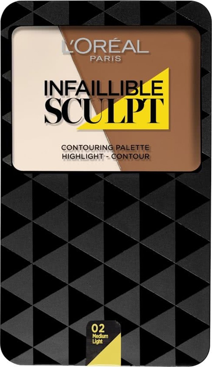 LOréal Paris Infallible - 300 Medium - Sculpt Palette