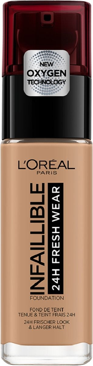 LOréal Paris Infallible 24Hr Fresh Wear Foundation - 300 Amber