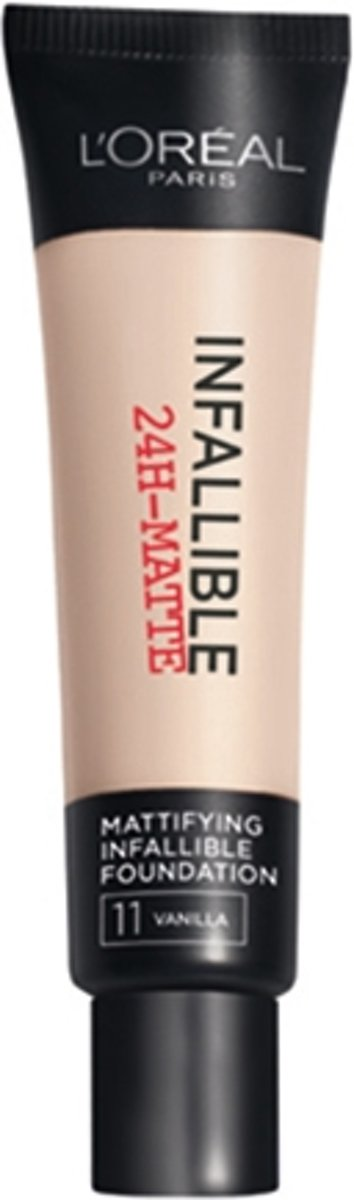 LOréal Paris Infallible 24h Matte Foundation - 11 Vanilla