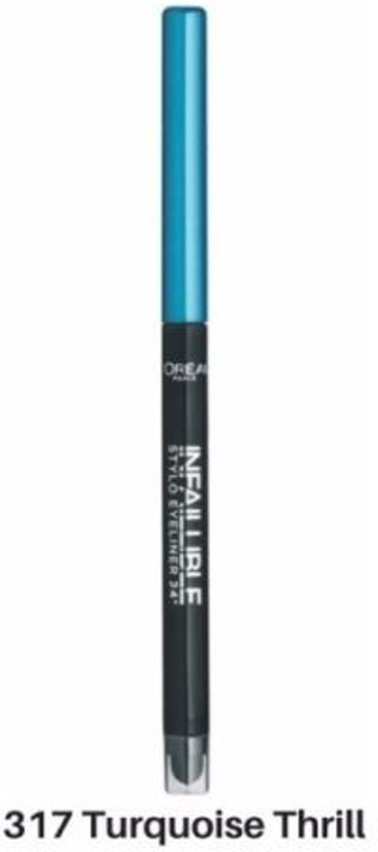 LOréal Paris Infallible Eyeliner - 317 Turquoise Thrill
