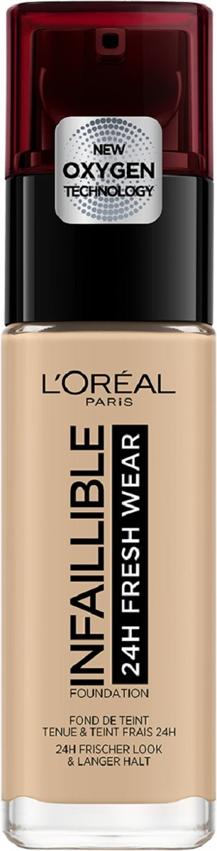 LOréal Paris Infallible Foundation - 125 Natural Rose