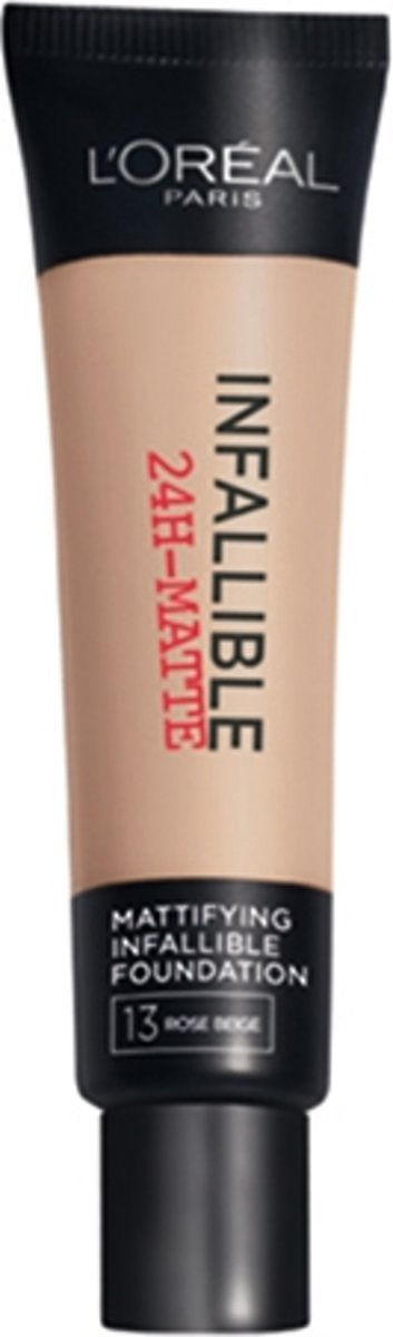 LOréal Paris Infallible Matte Foundation - 13 Beige Rose