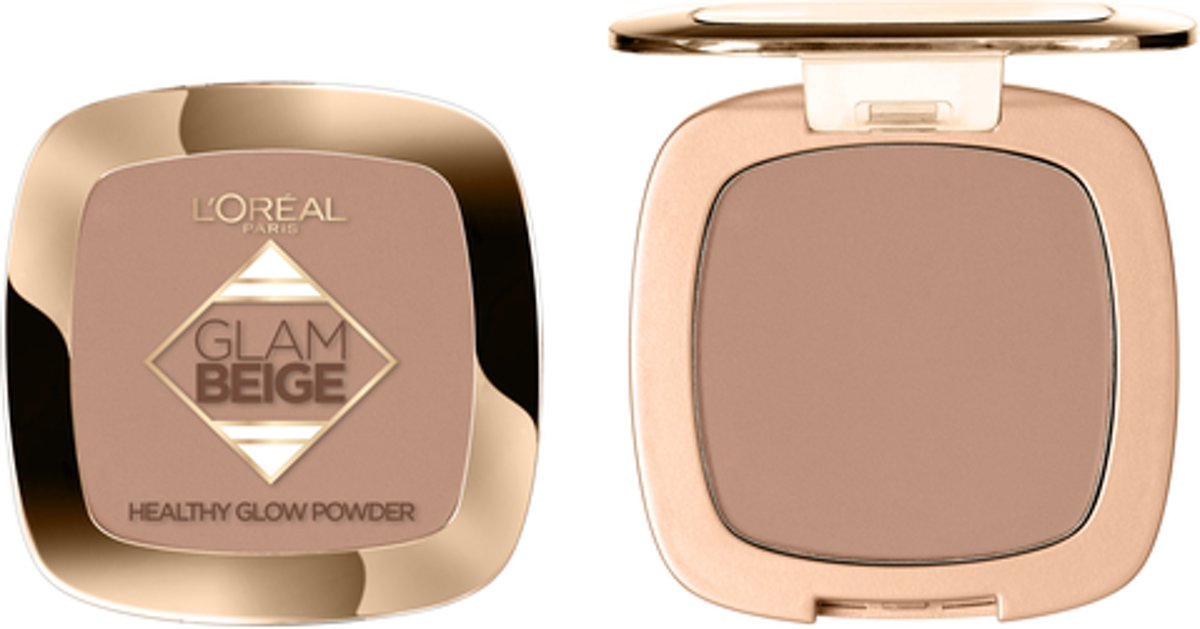 LOréal Paris Make-Up Designer Glam Beige - 40 Medium Dark - Poeder