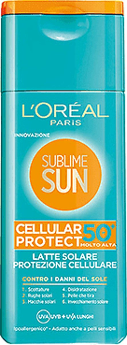 LOréal Paris Sublime Sun Milk Cellular Factor(SPF)50 - 200 ml