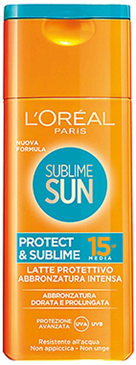 LOréal Paris Sun Milk Sublime Cellular Factor(SPF)15 - 200 ml