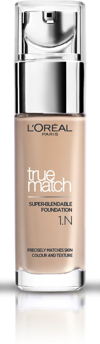 LOréal Paris True Match Foundation - 1N Ivory