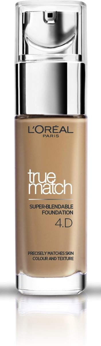 LOréal Paris True Match Foundation - 4D/W Naturel Doré