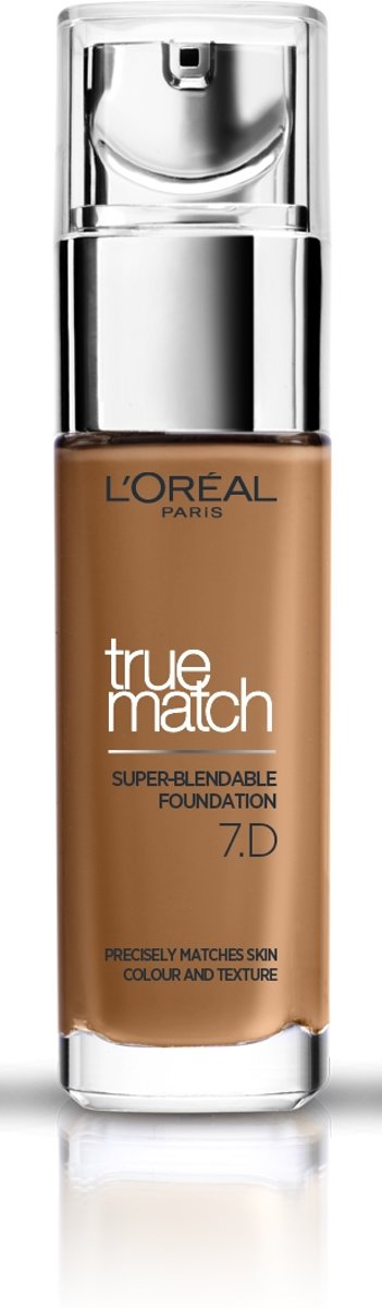 LOréal Paris True Match Foundation - 7D/W Ambre Dore