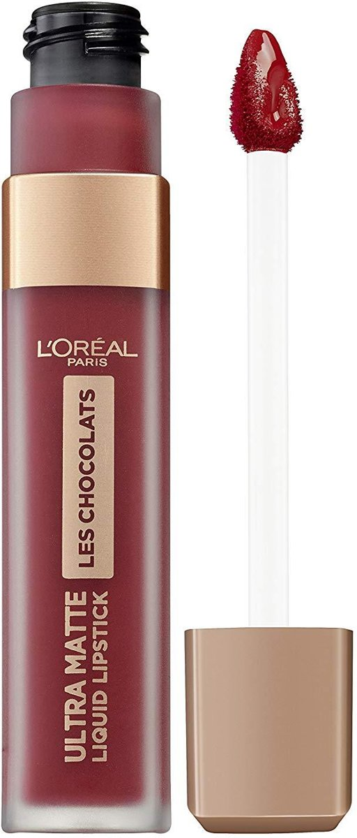 LOréal Paris Ultra Matte Liquid Lipstick Les Chocolats - 864 Tasty Ruby