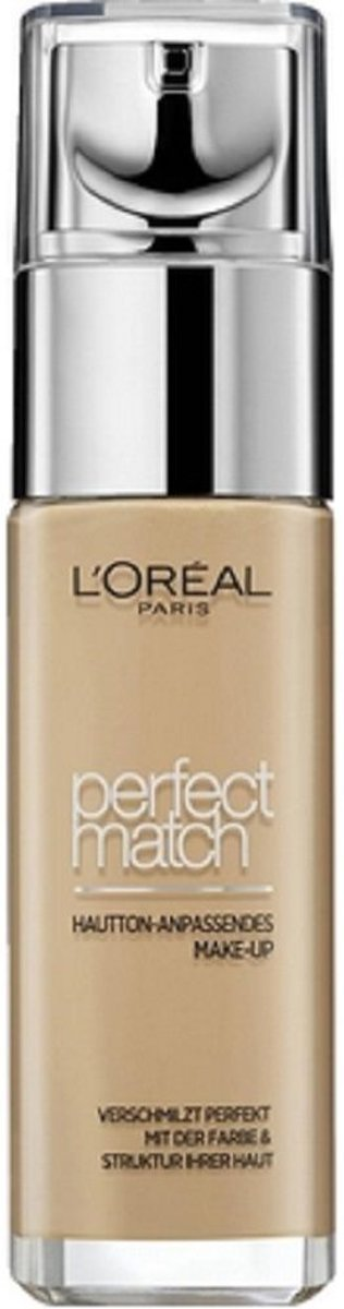 LOreal Foundation - Perfect Match 3D/3W Golden Beige 30 ml