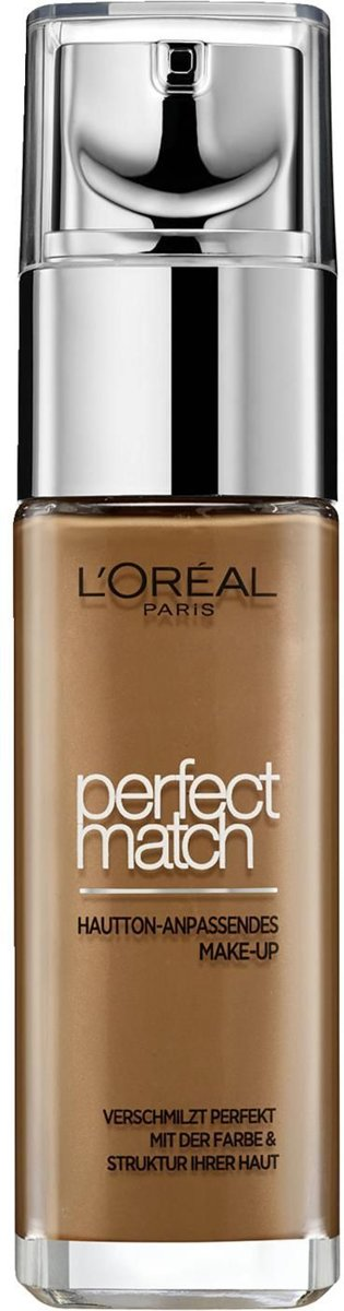 LOreal Foundation - Perfect Match 8R/8C Nut Brown 30 ml