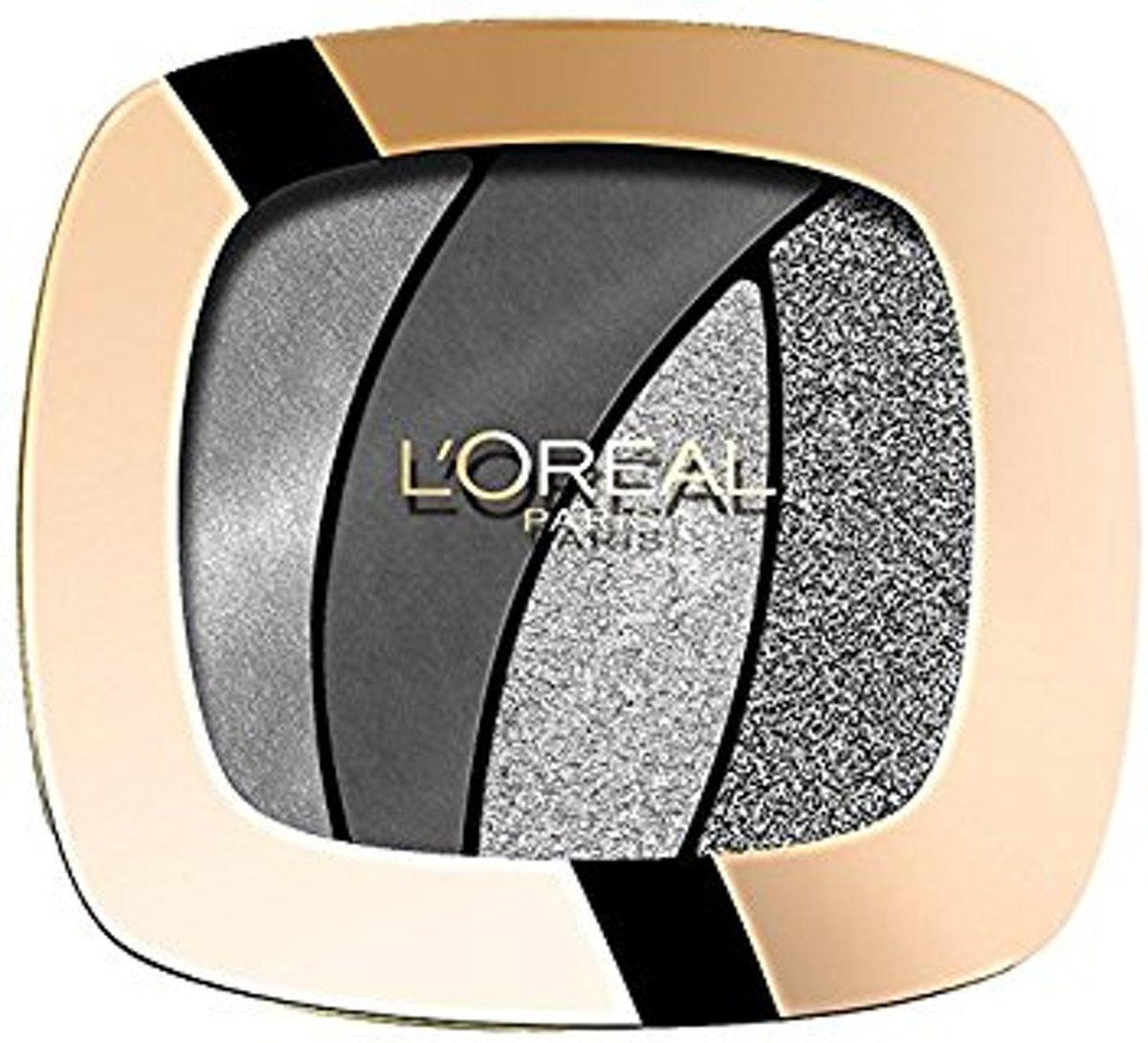Loreal Paris Color Riche Quad Oogschaduw - S11 Fascinating Silver