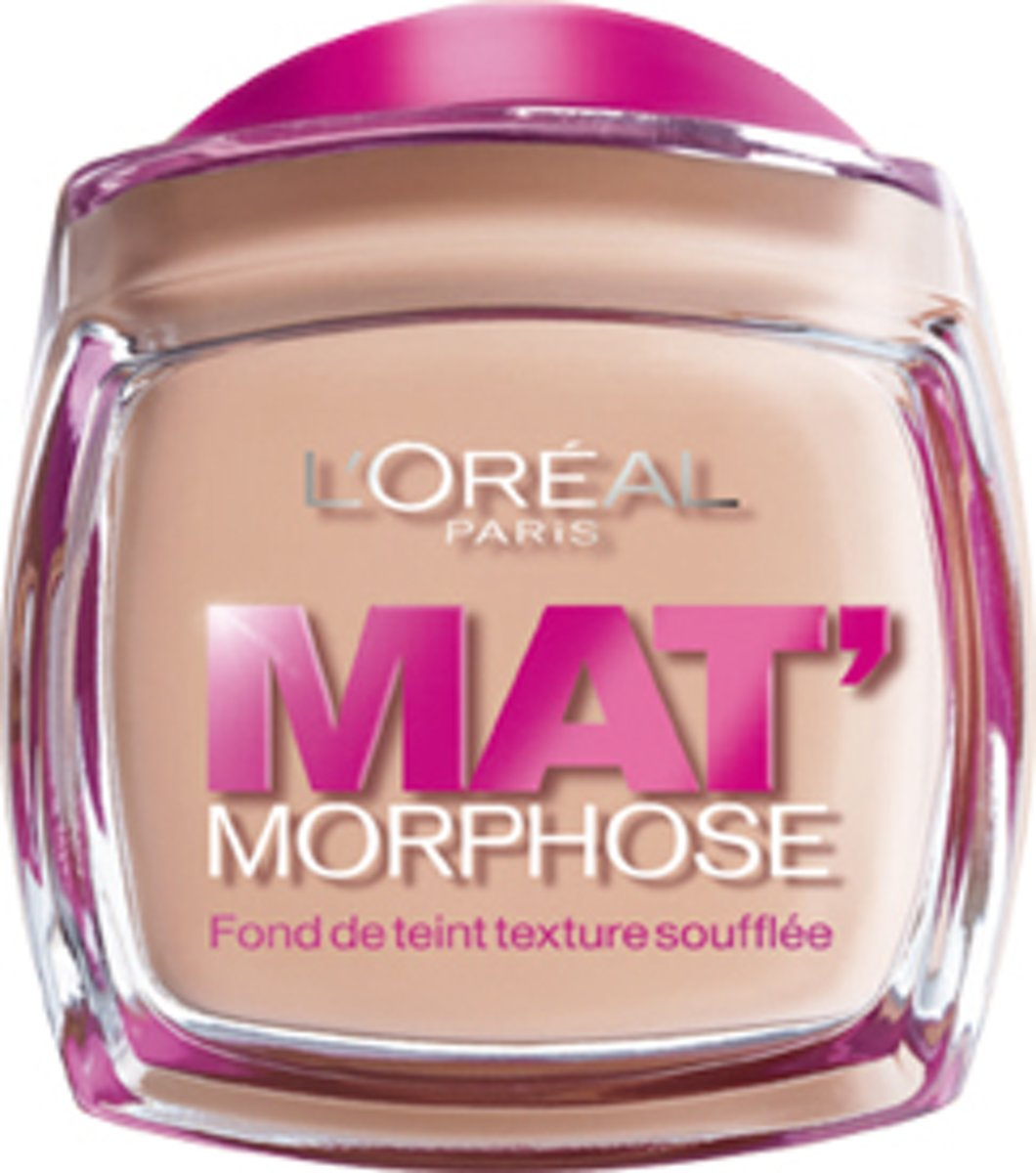 Loreal Paris Matte Morphose Foundation - Ivoire Rose 110