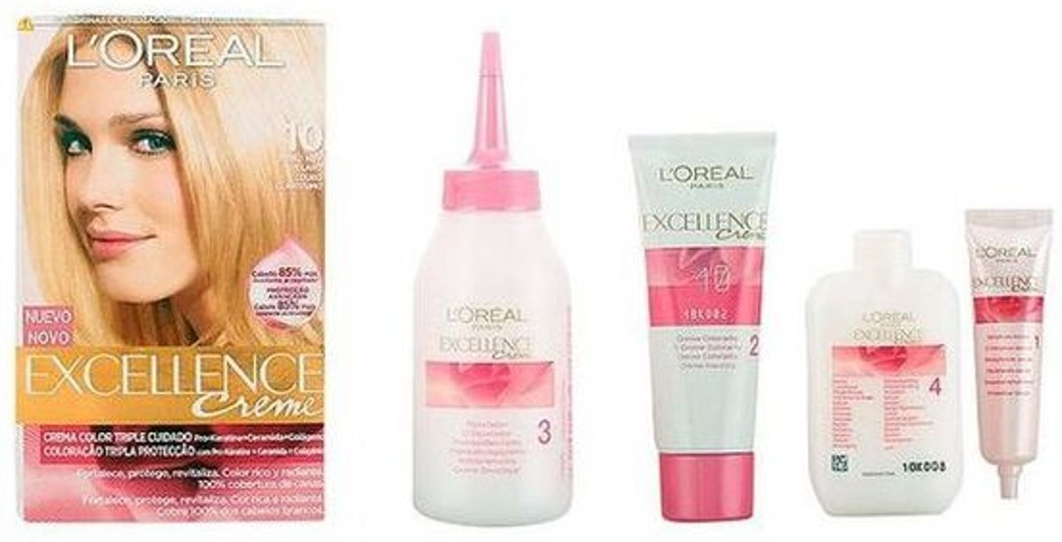 Permanente Kleur Excellence LOreal Expert Professionnel Light blonde