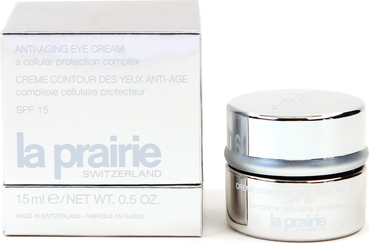 La Prairie Anti Aging Eye Cream Cellular Intervention - 15 ml - Oogcreme