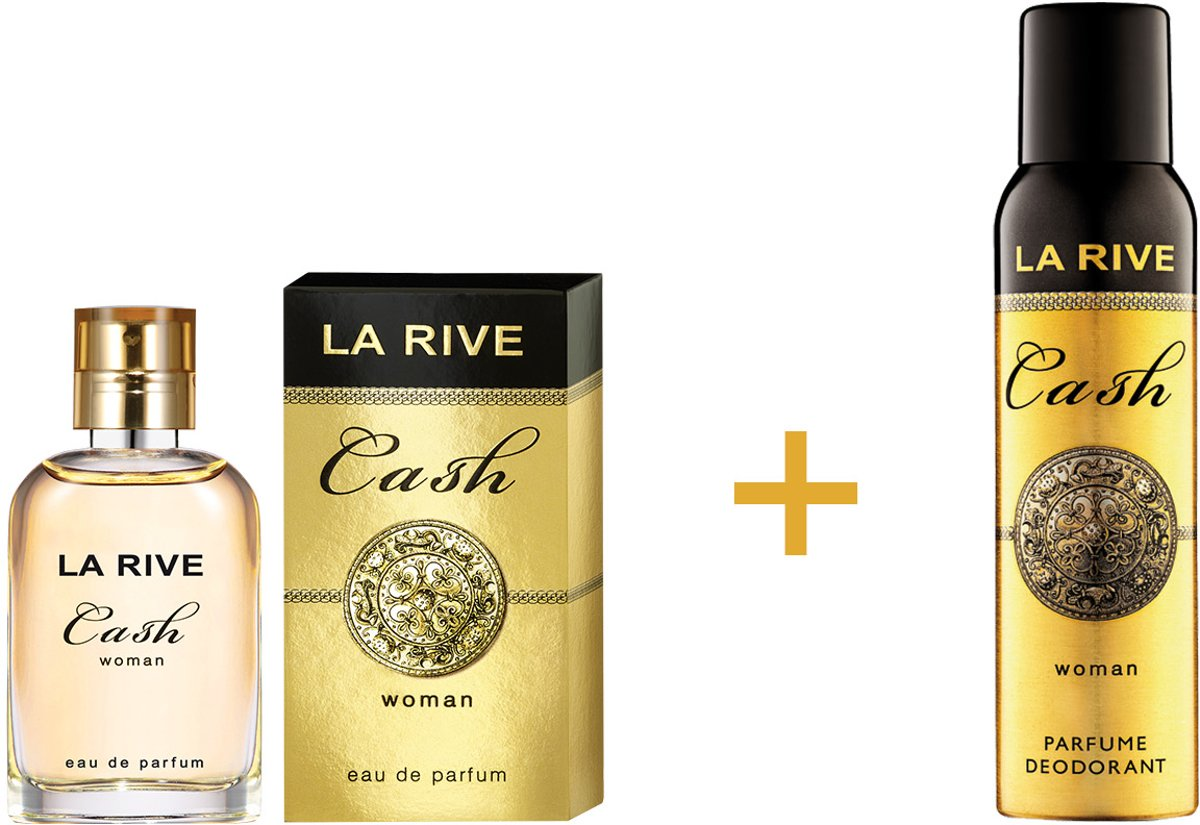 La Rive - Cash Woman 30ml + deo