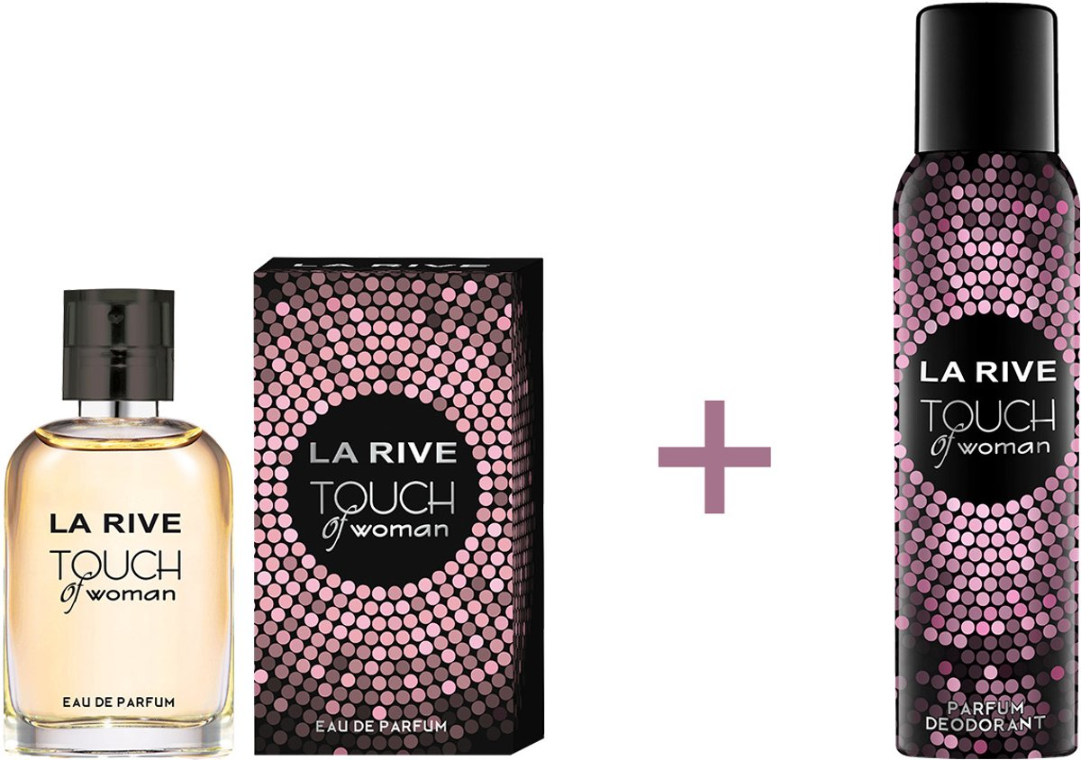 La Rive  - Touch of Woman 30ml + Deo