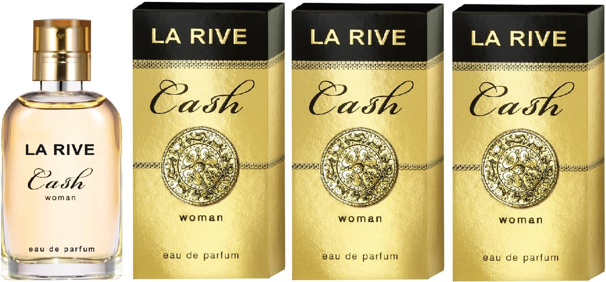 La Rive Multipack - 3x Cash Woman 30ml