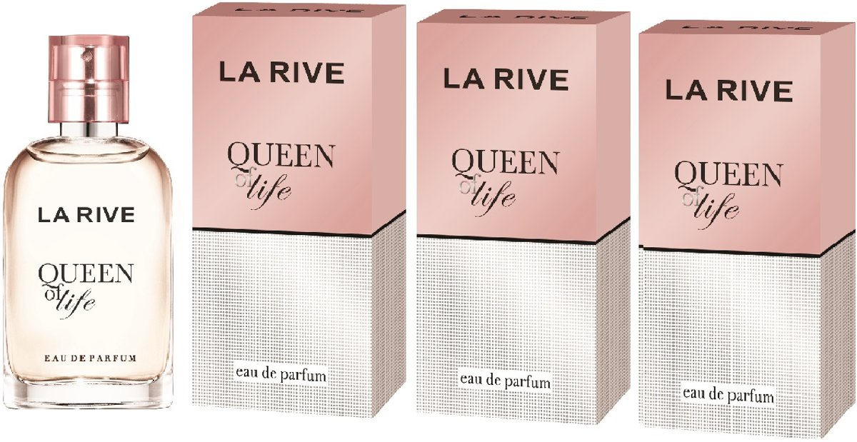La Rive Multipack - 3x Queen of Life 30ml