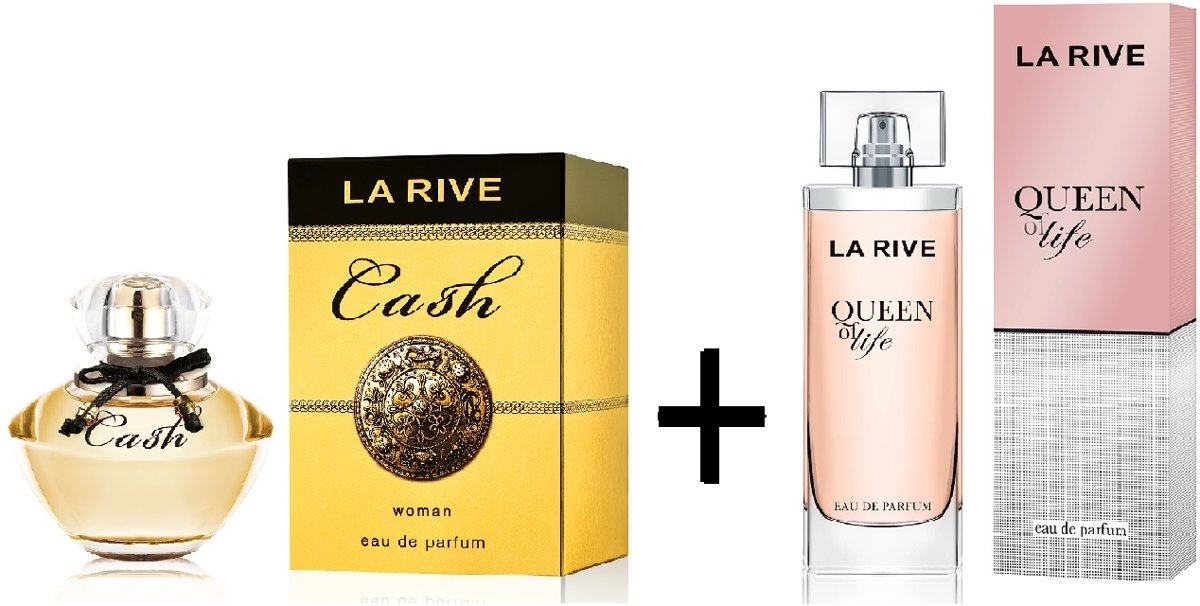 La Rive Multipack - Cash Woman 90ml + Queen of Life 75ml