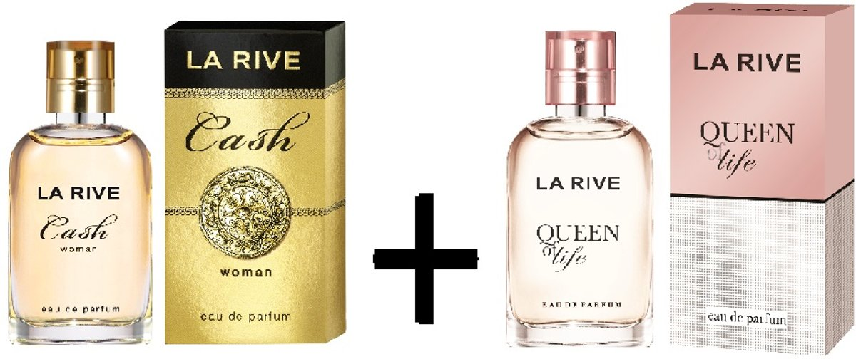 La Rive Multipack - Queen of Life + Cash Woman 30ml