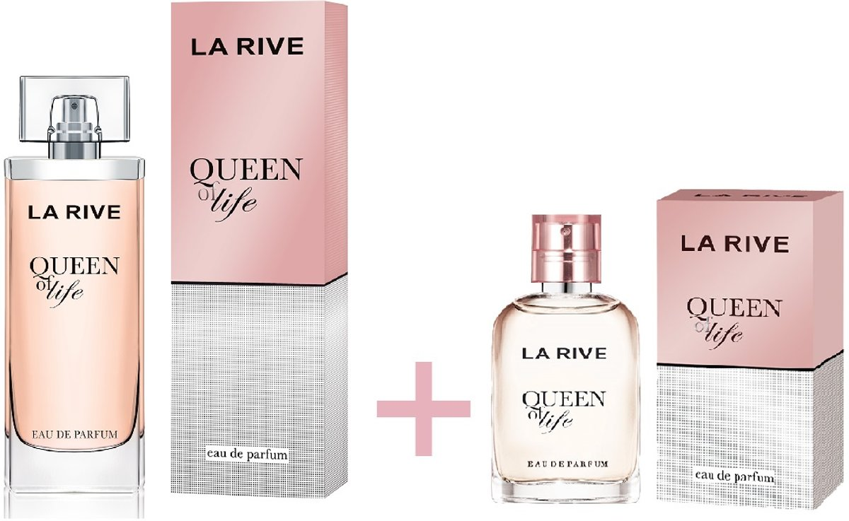 La Rive Multipack - Queen of Life 75ml + 30ml