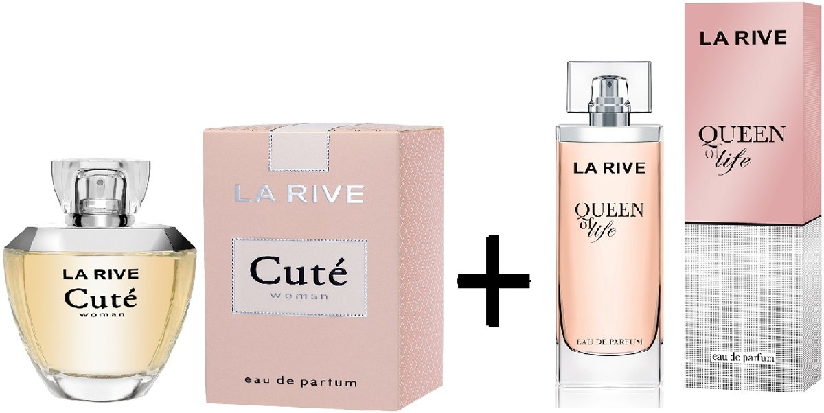 La Rive Multipack - Queen of Life 75ml + Cuté 100ml