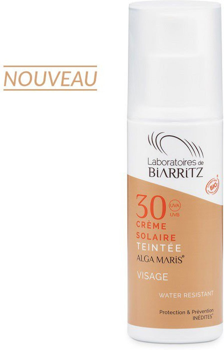 Algamaris sun facecr f30 light 50 ml