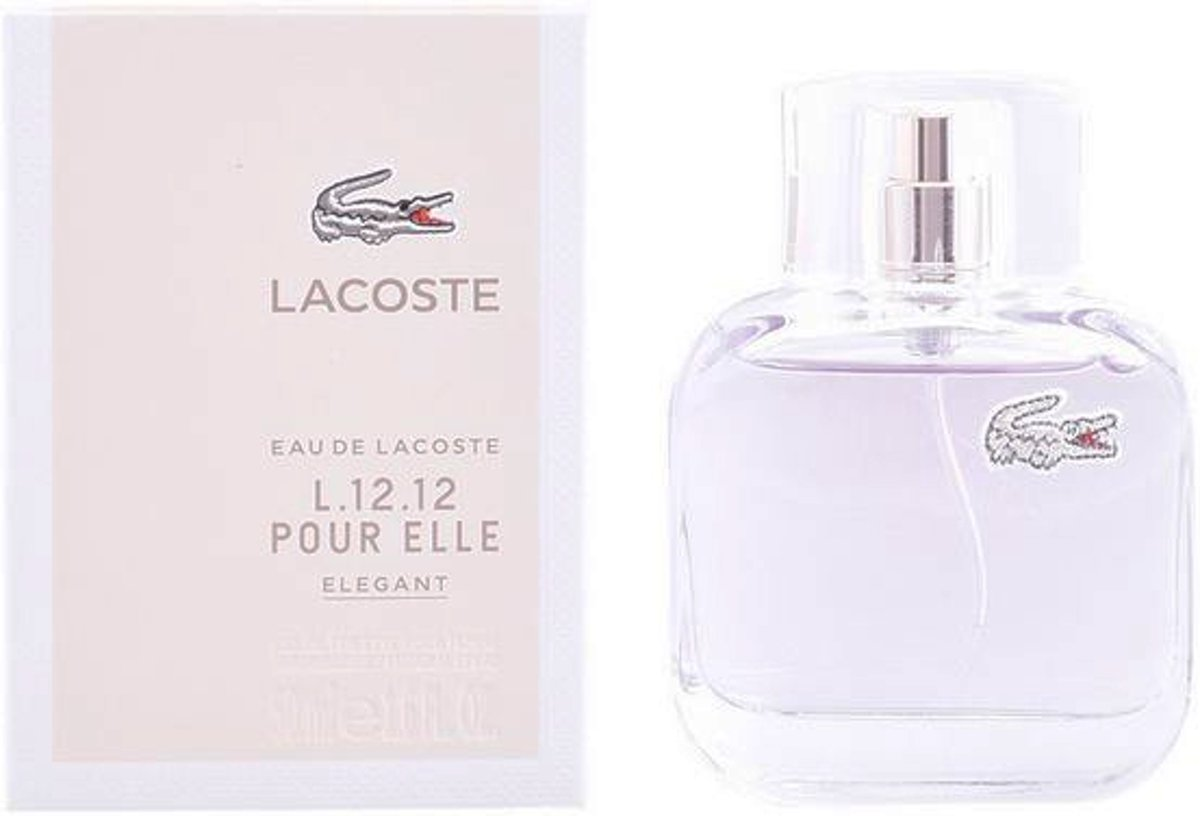 Damesparfum L.12.12 Elegant Lacoste EDT (50 ml)