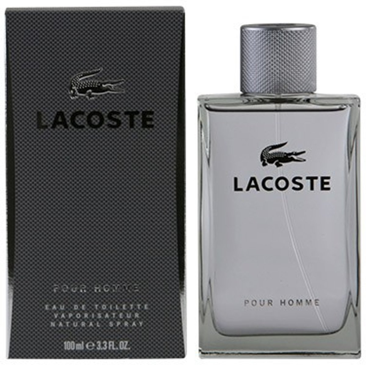 MULTI BUNDEL 2 stuks LACOSTE HOMME eau de toilette spray 100 ml
