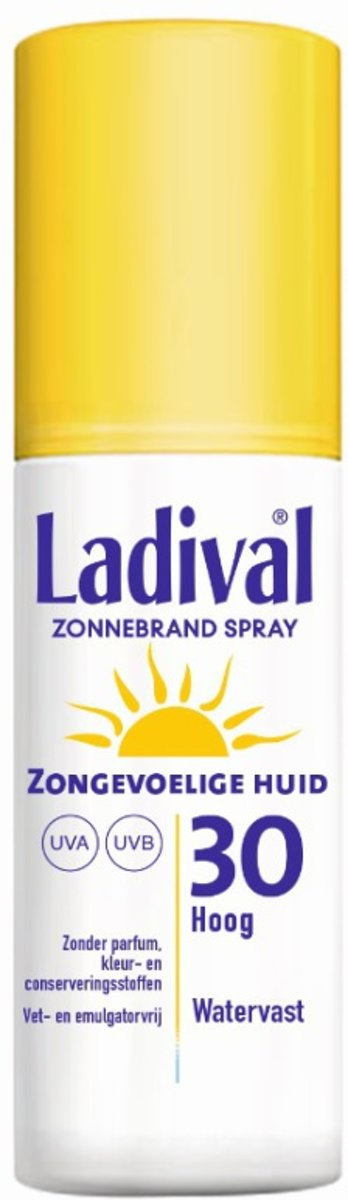 Ladival Zonnebrandgel Spray - SPF 30 - 150 ml