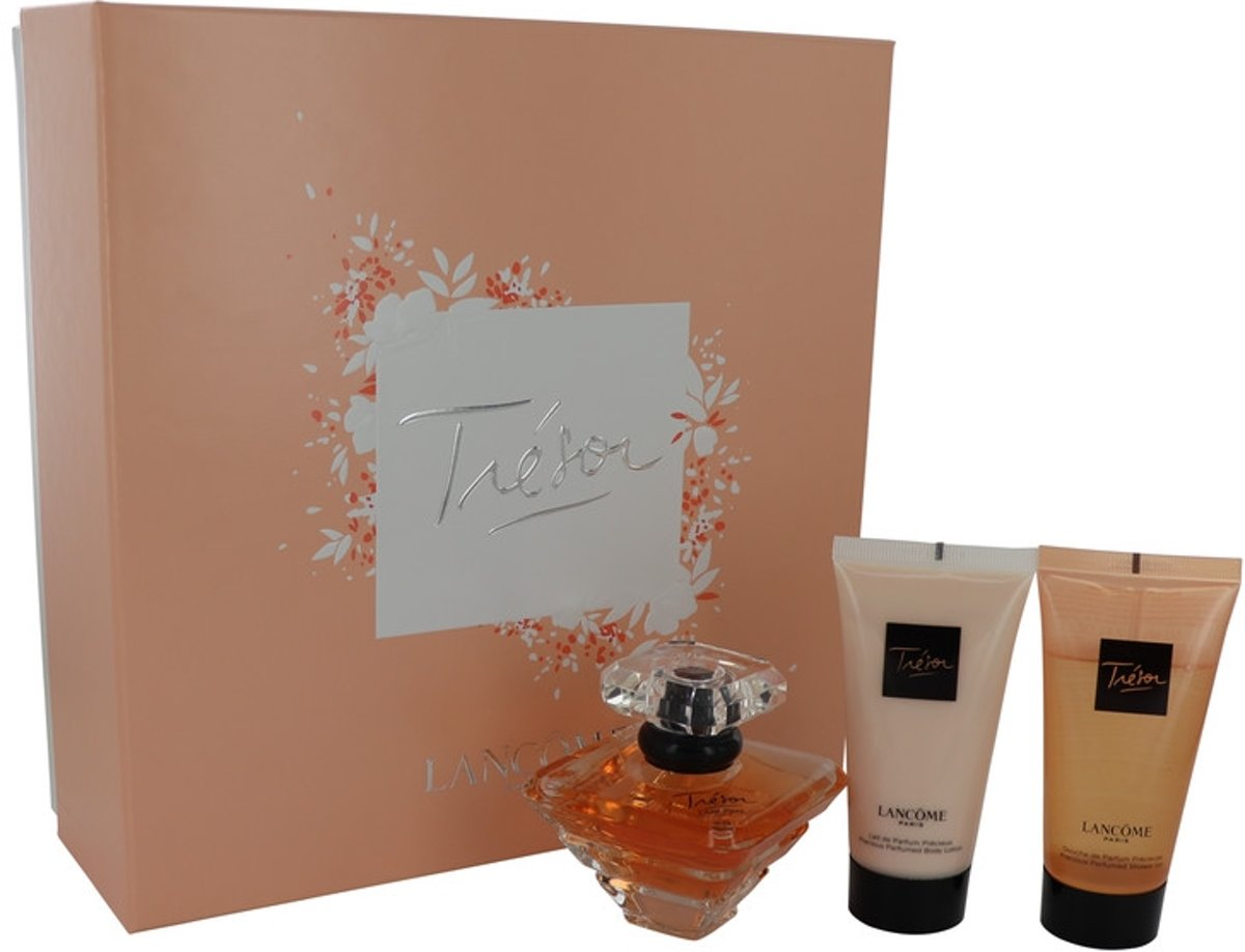Lancome - Gift Set -- 50  ml Leau De Parfum Spray   50  ml Body Lotion   50  ml Shower Gel