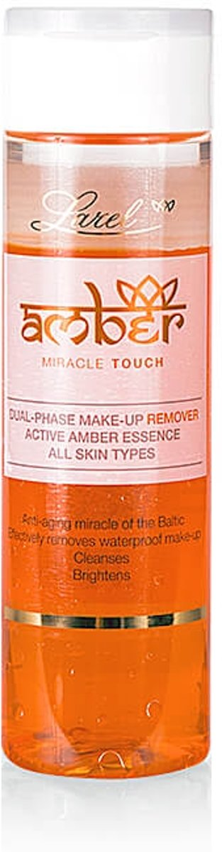 AMBER® Miracle Touch Dual-Phase Make-Up Remover With Amber Extract 200ml.