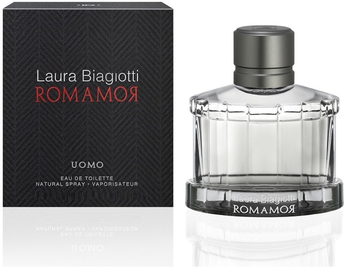 Laura Biagiotti Romamor Uomo Edt Spray 40ml