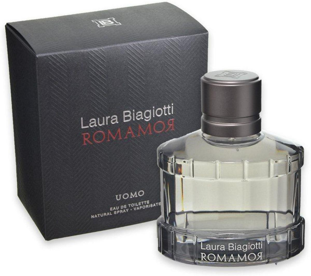Laura Biagiotti Romamor Uomo Edt Spray 75ml
