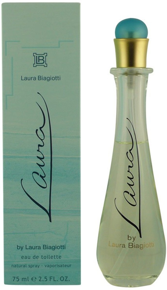 MULTI BUNDEL 2 stuks LAURA Eau de Toilette Spray 75 ml