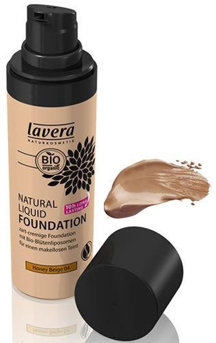 Liquid foundation honey beige 04