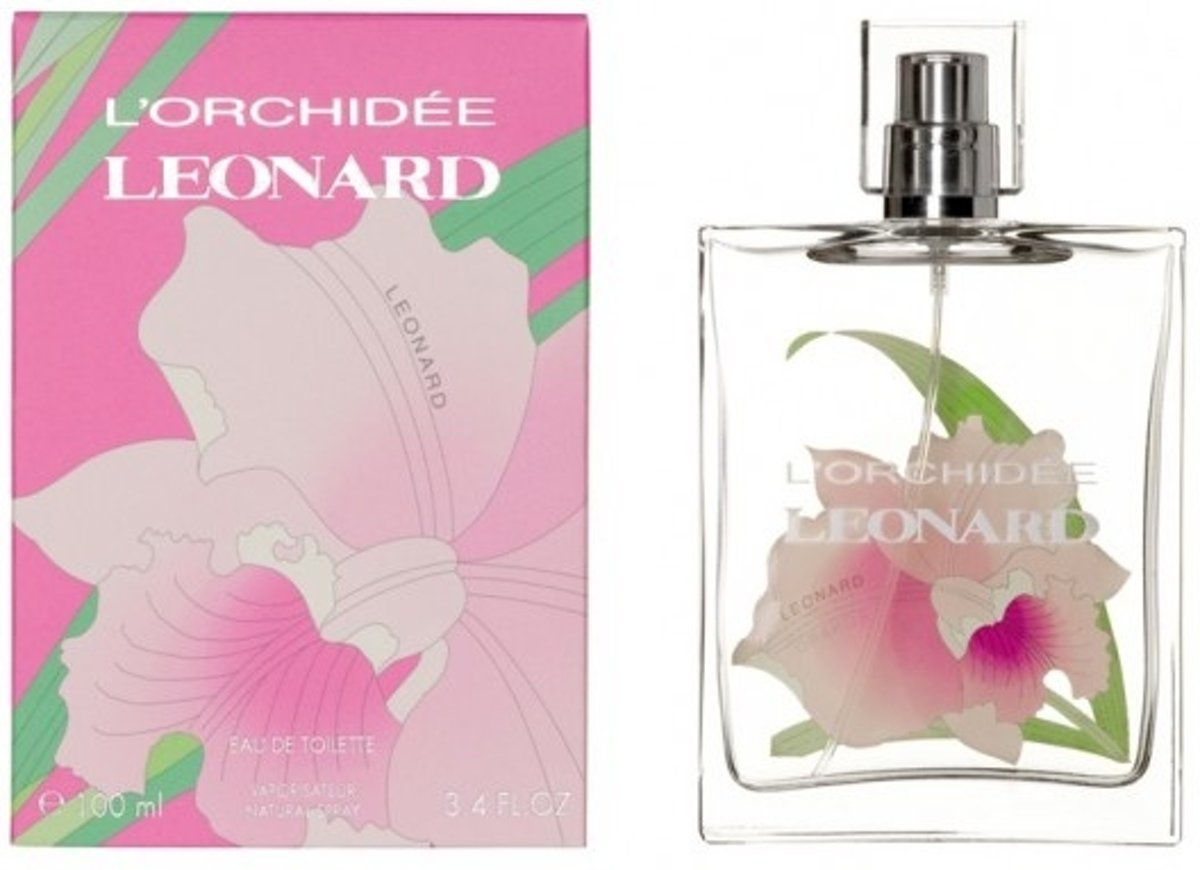 Leonard Paris LOrchidee Vrouwen 100ml eau de toilette