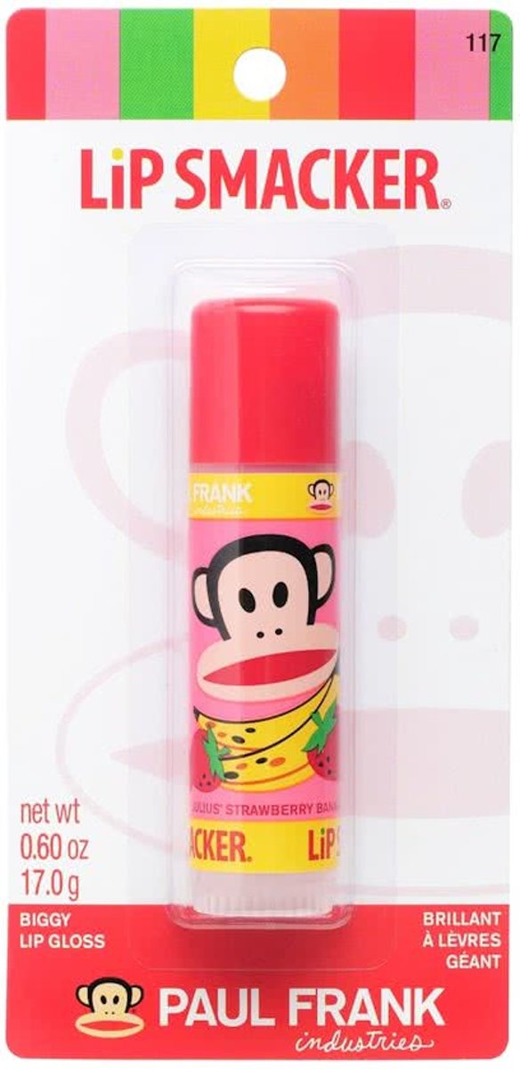 Lipsmackers Paul Frank - Strawberry Banana Biggy
