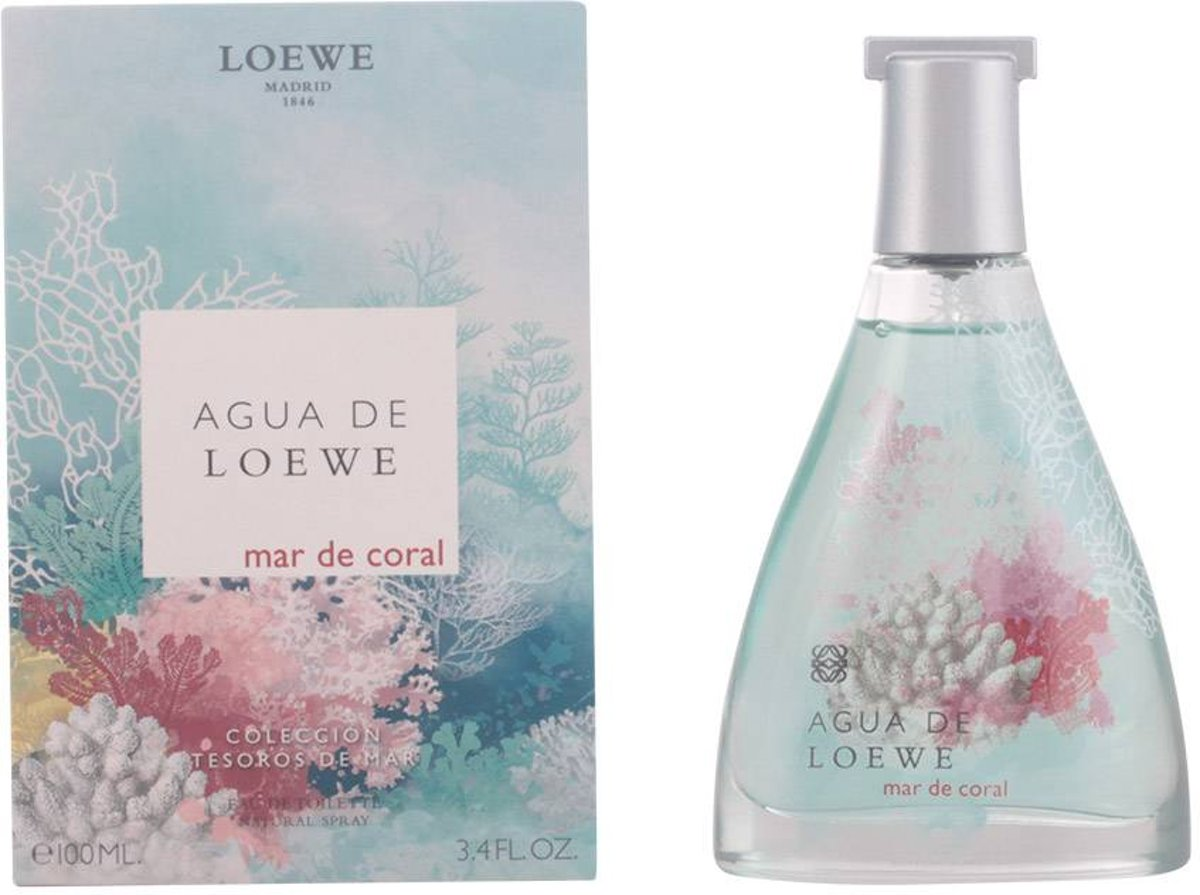AGUA DE LOEWE MAR DE CORAL eau de toilette spray 100 ml
